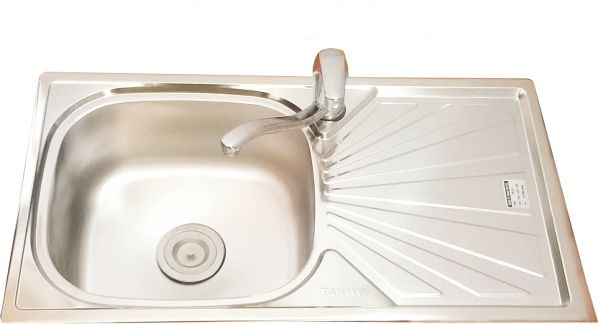 One-tray one-table sink