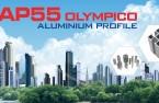 Tân Mỹ ra mắt thương hiệu nhôm hệ AP55 – Olympico